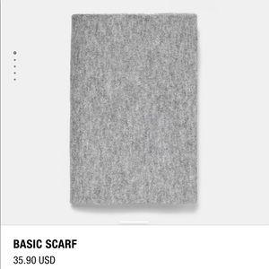 Zara basic scarf - grey